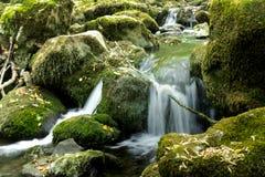 Cachoeira em Bulgária fotos de stock royalty free