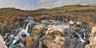 Cachoeira em caldeirões da sorte de Bourke Imagem de Stock