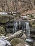 Cachoeira em Central Park Foto de Stock