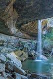 Cachoeira em Hamilton Pool Fotos de Stock Royalty Free