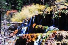 Cachoeira em Huanglong Foto de Stock Royalty Free