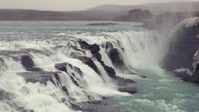 Cachoeira em Islândia vídeos de arquivo