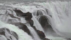 Cachoeira em Islândia filme