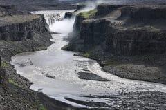 Cachoeira em Islândia imagens de stock