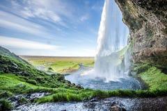 Cachoeira em Islândia Imagens de Stock Royalty Free