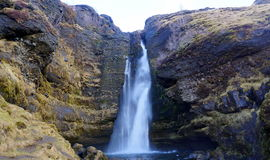 Cachoeira em Islândia Fotos de Stock