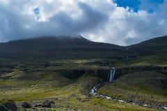 Cachoeira em Islândia Foto de Stock