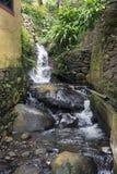 Cachoeira em madeira Foto de Stock Royalty Free