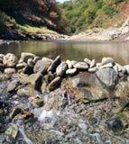 Cachoeira em Masalli Fotografia de Stock Royalty Free