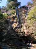 Cachoeira em Masalli Foto de Stock