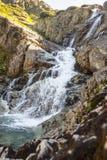 Cachoeira em montanhas de Tatra - Polônia de Siklawa, Europa. Imagem de Stock Royalty Free