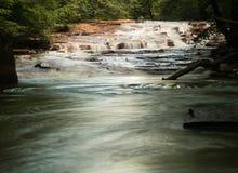 Cachoeira em Muddy Creek perto de Albright WV Imagens de Stock Royalty Free