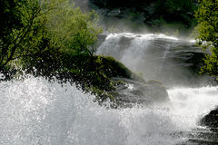 Cachoeira em Noruega Fotos de Stock Royalty Free