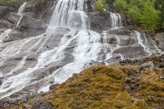Cachoeira em Noruega Imagens de Stock Royalty Free