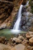 Cachoeira em Ourika, Marrocos Foto de Stock