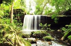 Cachoeira em Phu Kradueng em Chang Wat Loei foto de stock royalty free