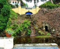 Cachoeira em Portmeirion Imagens de Stock