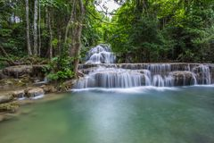 Cachoeira em Tailândia fotos de stock royalty free