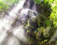 Cachoeira em Thi Lo Su, Tak, Tailândia Foto de Stock Royalty Free