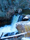 Cachoeira em Thompson grande imagens de stock