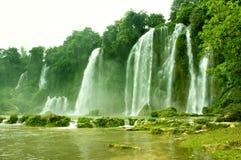 Cachoeira em Vietnam Imagens de Stock Royalty Free