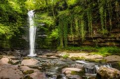 Cachoeira em wales Fotos de Stock