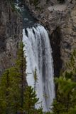 Cachoeira em Yellowstone Fotos de Stock Royalty Free