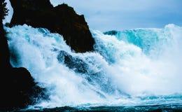 Cachoeira enorme Foto de Stock