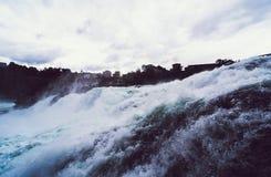 Cachoeira enorme Fotos de Stock Royalty Free