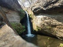 Cachoeira escondida imagem de stock
