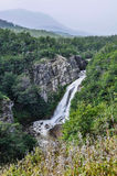 Cachoeira, estrada dos sete lagos, Argentina Fotos de Stock Royalty Free