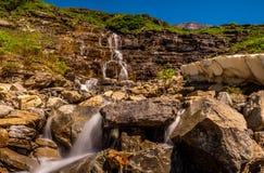 Cachoeira fora da área grande da curvatura de ir à estrada de Sun, PIB fotos de stock