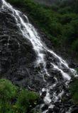Cachoeira fora de Valdez, Alaska Fotos de Stock Royalty Free
