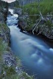 Cachoeira fria Imagens de Stock