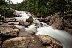 Cachoeira gör escorrega Royaltyfri Foto