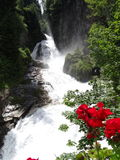 Cachoeira Gastein mau Áustria Imagem de Stock