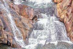 Cachoeira, Georgia Tallulah Gorge State Park Foto de Stock