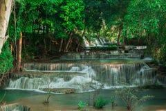 Cachoeira grande em Kanchanaburi Fotografia de Stock Royalty Free