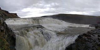 Cachoeira Gullfoss foto de stock