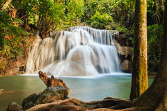 Cachoeira Huay Mae Kamin Imagens de Stock