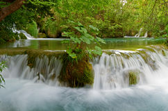 Cachoeira idílico. Fotografia de Stock Royalty Free