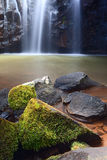 Cachoeira idílico do paraíso Imagens de Stock Royalty Free