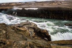 Cachoeira II de Gulfoss Fotografia de Stock Royalty Free