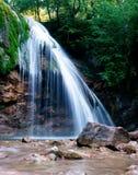 Cachoeira Jur-Jur em Crimeia Foto de Stock