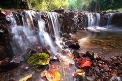 Cachoeira Kaeng Krachan, Tailândia Fotos de Stock Royalty Free