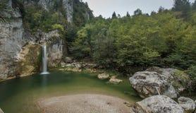 Cachoeira Kastamonu de Ilica, Turquia Fotos de Stock Royalty Free