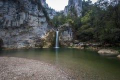 Cachoeira Kastamonu de Ilica, Turquia Imagem de Stock