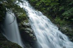 Cachoeira Kennedy Falls Vancouver, BC, Canadá Imagem de Stock Royalty Free