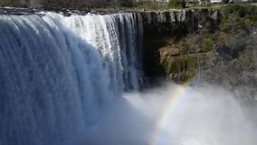 Cachoeira Laja do rio video estoque