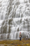 Cachoeira lindo Foto de Stock Royalty Free